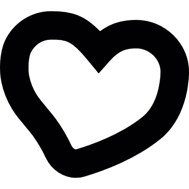 Forme irr guli re de coeur dessiner la main t l charger icons gratuitement - Dessin en forme de coeur ...