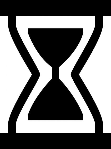 Horloge sablier Icons gratuit