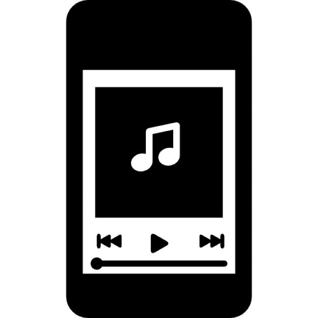 iphone lecteur de musique t l charger icons gratuitement. Black Bedroom Furniture Sets. Home Design Ideas