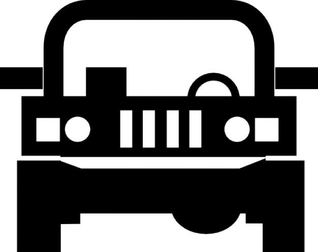 Jeep, 4x4 Icons gratuit