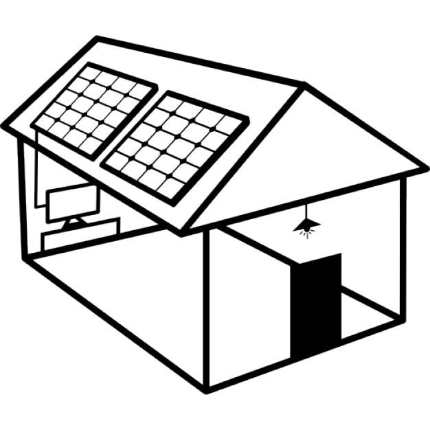 La construction de logements nergie solaire avec des for Qu est ce qu un panneau solaire