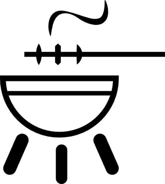 la cuisson au barbecue t l charger icons gratuitement. Black Bedroom Furniture Sets. Home Design Ideas