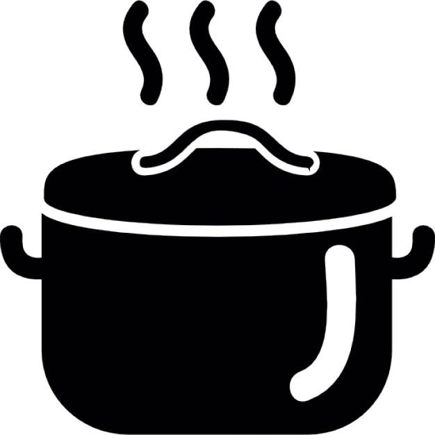 La cuisson des aliments dans une casserole chaude - Casserole dessin ...