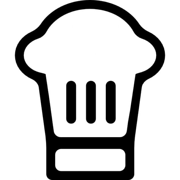Le chef toque aper u t l charger icons gratuitement for Cuisinier chapeau noir