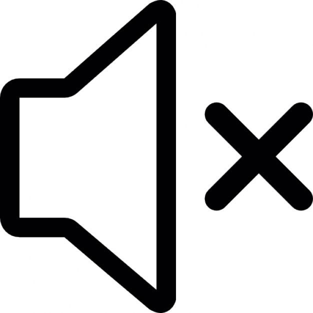 le volume muet t233l233charger icons gratuitement