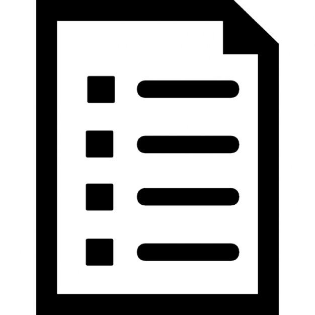 Liste Symbole D Interface De Documents T 233 L 233 Charger Icons