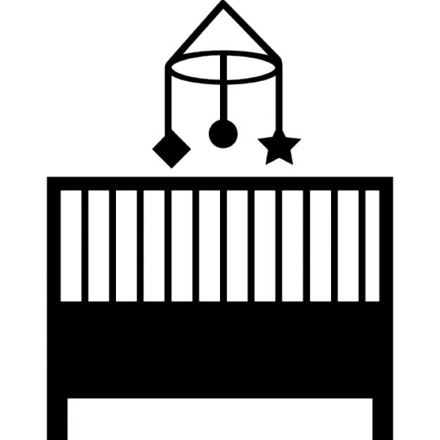 meubles lit b b en chambre t l charger icons gratuitement. Black Bedroom Furniture Sets. Home Design Ideas