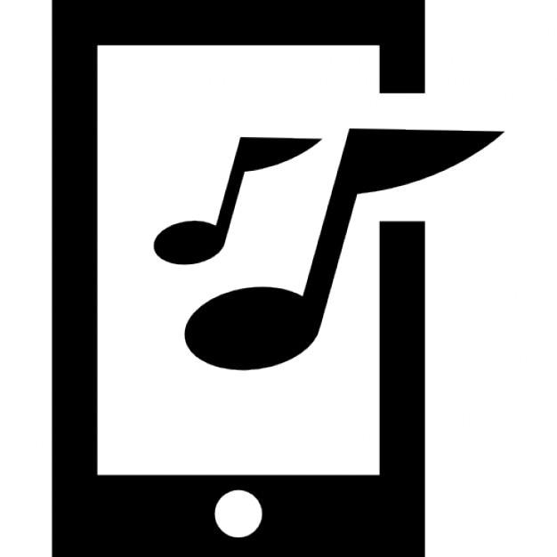 musique sur t l phone mobile t l charger icons gratuitement. Black Bedroom Furniture Sets. Home Design Ideas