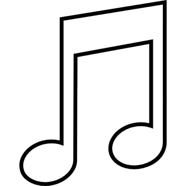 Top Note de musique, symbole ios 7 de l'interface | Télécharger Icons  OJ43