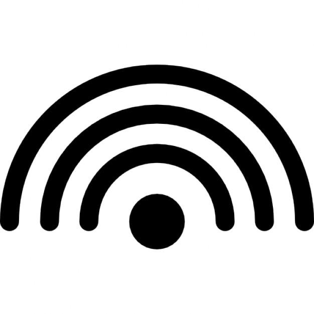 ondes wifi t l charger icons gratuitement. Black Bedroom Furniture Sets. Home Design Ideas