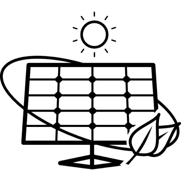 Outil de panneau solaire cologique t l charger icons for Qu est ce qu un panneau solaire