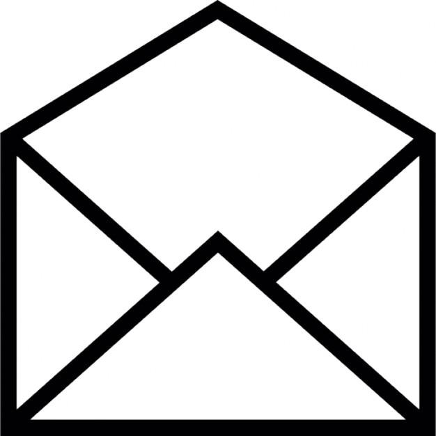 ouverte message e mail symbole de l 39 enveloppe de l 39 interface ios 7 t l charger icons gratuitement. Black Bedroom Furniture Sets. Home Design Ideas