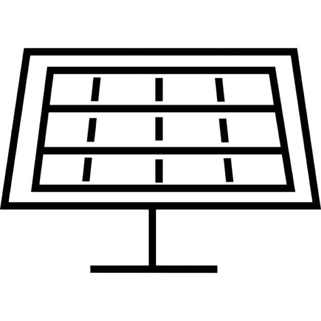 Panneau solaire symbole ios 7 de l 39 interface for Qu est ce qu un panneau solaire