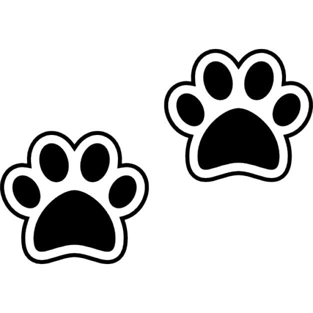Pawprints de chien t l charger icons gratuitement - Image patte de chien gratuite ...