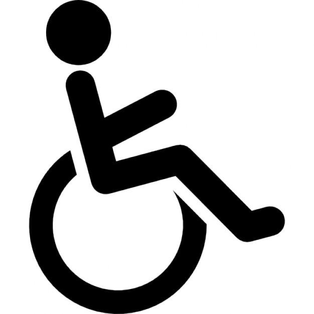 Personnes à mobilité réduite Icon gratuit