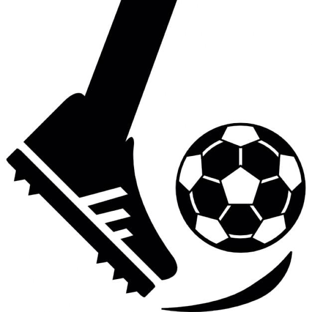 Comment donner un coup de pied dans une balle de football