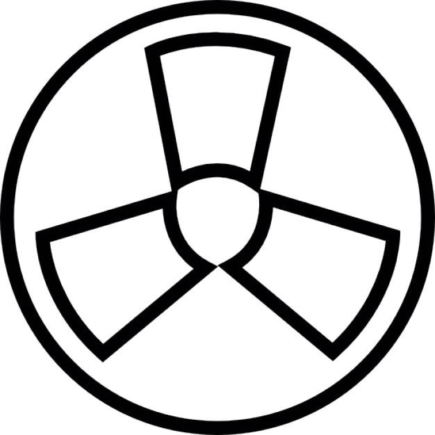 radioactif symbole ios 7 de l 39 interface t l charger icons gratuitement. Black Bedroom Furniture Sets. Home Design Ideas