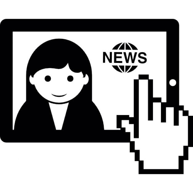 Regarder les nouvelles en ligne en utilisant ipad - Caricature gratuite en ligne ...
