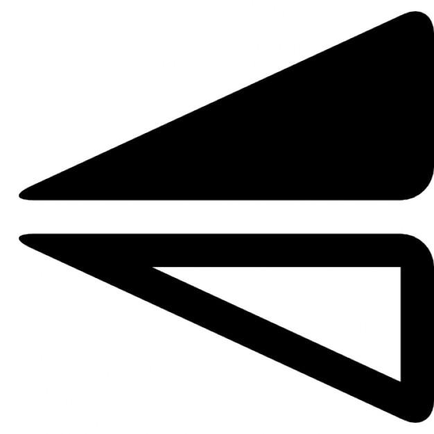 Retournement triangle Icons gratuit