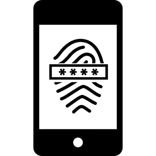 Gut bekannt Scanner d'empreintes digitales avec mot de passe sur le téléphone  WG83