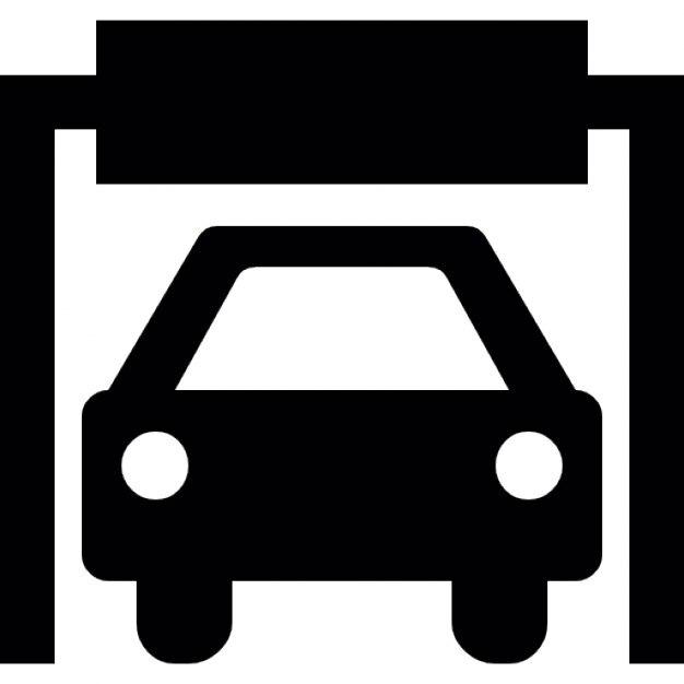 Silhouette d 39 une voiture dans un garage t l charger - Combien un garage reprend une voiture ...