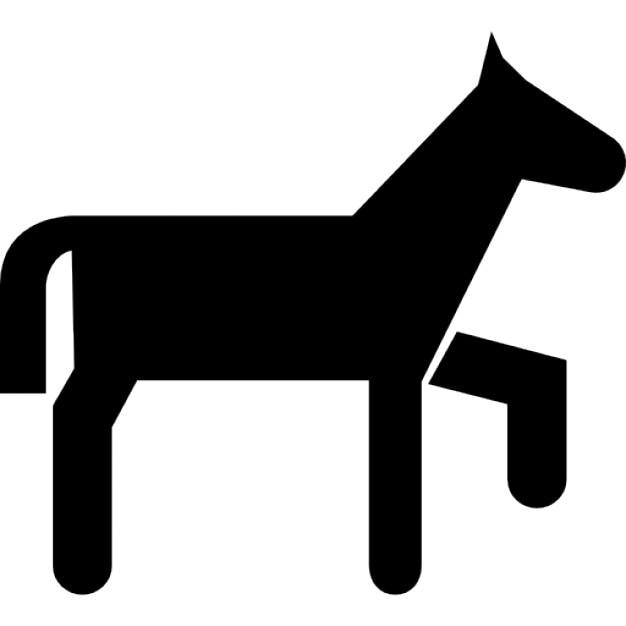 Silhouette de dessin anim variante poney t l charger icons gratuitement - Dessin anime avec des poneys ...