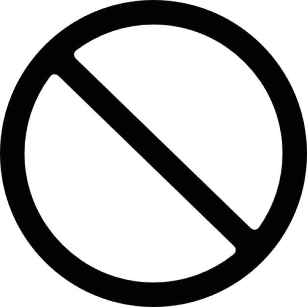 symbole de l 39 interdiction t l charger icons gratuitement. Black Bedroom Furniture Sets. Home Design Ideas