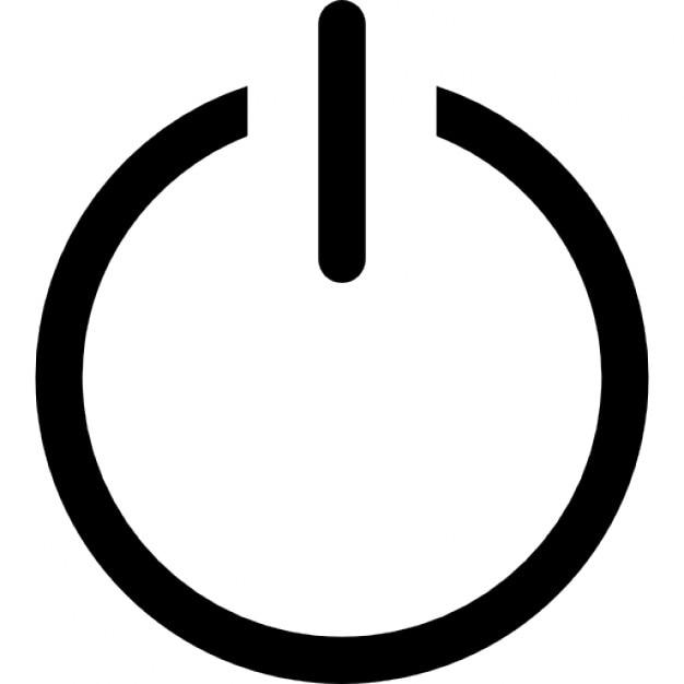 symbole de mise hors tension t l charger icons gratuitement. Black Bedroom Furniture Sets. Home Design Ideas
