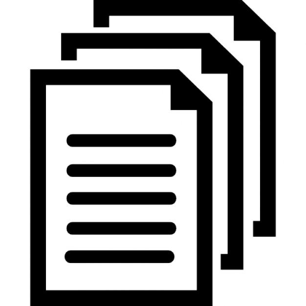 Symbole des documents telecharger icons gratuitement for Images gratuites documents