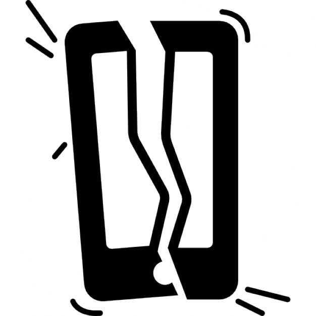 t l phone cass en deux parties t l charger icons gratuitement. Black Bedroom Furniture Sets. Home Design Ideas