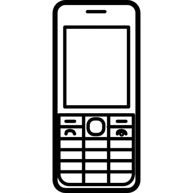 t u00e9l u00e9phone portable nokia mod u00e8le populaire t u00e9l u00e9charger cell phone clip art black and white cell phone clip art cartoons