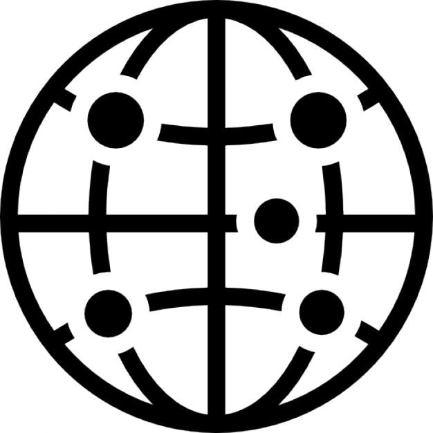 The Whitechapel Special Task Force Terre-symbole-circulaire-avec-des-points-et-des-lignes-reseau_318-60627