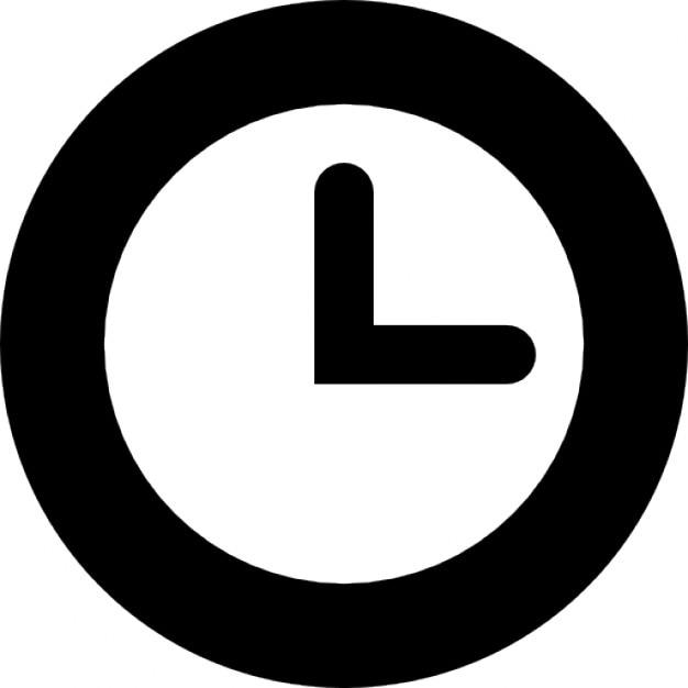 Trois heures Icons gratuit
