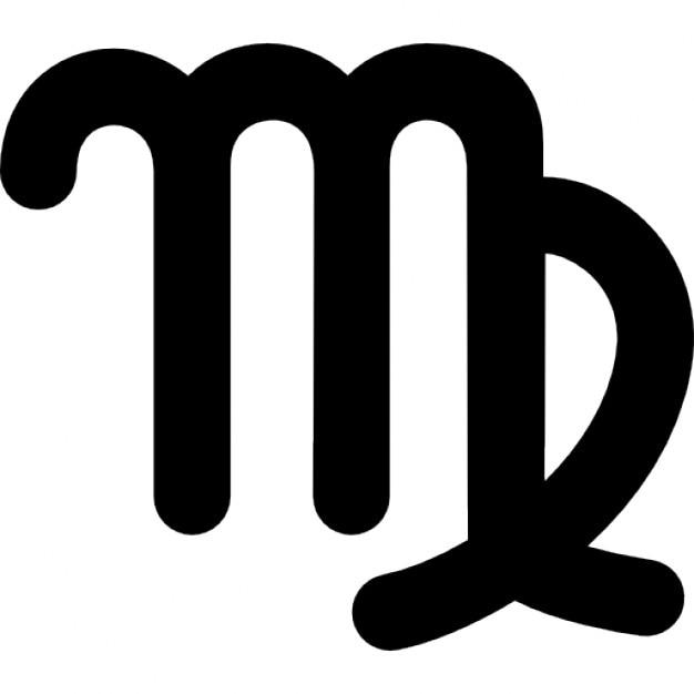 virgo signe symbole astrologique t l charger icons gratuitement. Black Bedroom Furniture Sets. Home Design Ideas