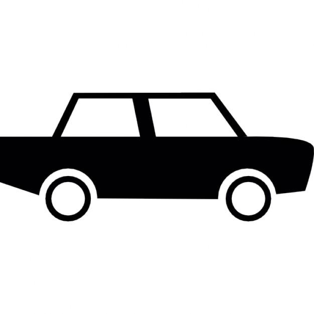voiture avec deux fen tres t l charger icons gratuitement. Black Bedroom Furniture Sets. Home Design Ideas