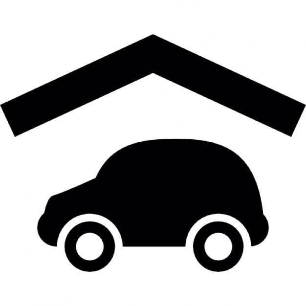 voiture avec un contour de toit t l charger icons. Black Bedroom Furniture Sets. Home Design Ideas