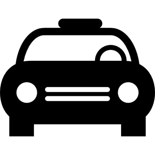 voiture de police avec le volant en vue t l charger icons gratuitement. Black Bedroom Furniture Sets. Home Design Ideas