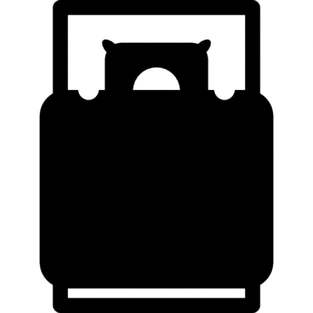 vue de dessus lit t l charger icons gratuitement. Black Bedroom Furniture Sets. Home Design Ideas