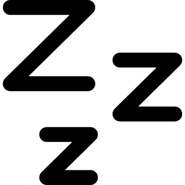 zzz symbole du sommeil t l charger icons gratuitement. Black Bedroom Furniture Sets. Home Design Ideas