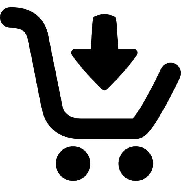 Añadir al carrito (compras en línea) icono gratuito