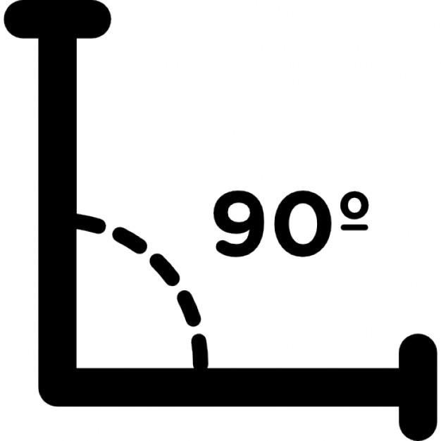 Ngulo recto de 90 grados descargar iconos gratis for Cocinar a 90 grados