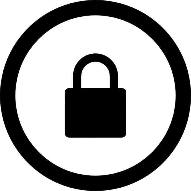 Bot n de bloqueo descargar iconos gratis for Icono boton