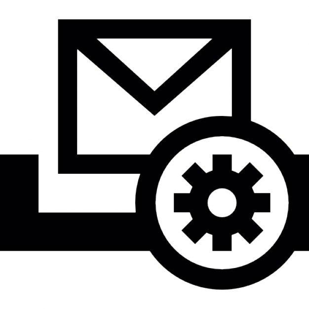 Bot n de configuraci n del buz n descargar iconos gratis for Icono boton