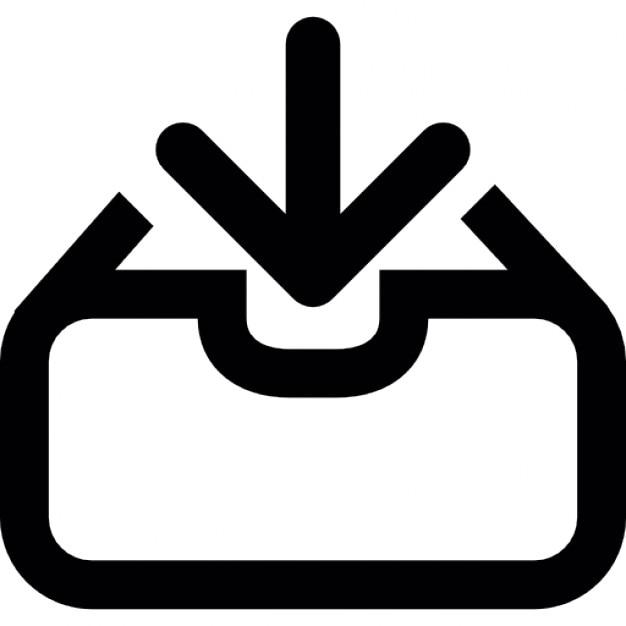 Bot n de descarga descargar iconos gratis for Icono boton