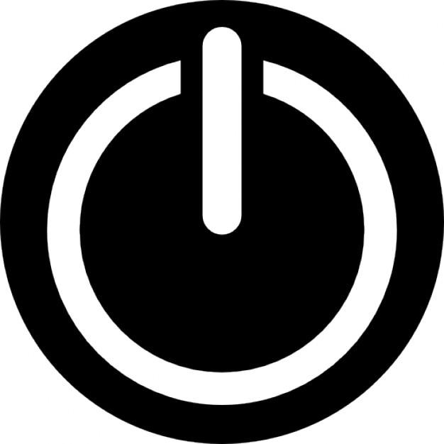 Bot n de encendido descargar iconos gratis for Icono boton