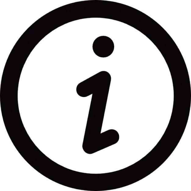 Bot n de informaci n descargar iconos gratis for Icono boton