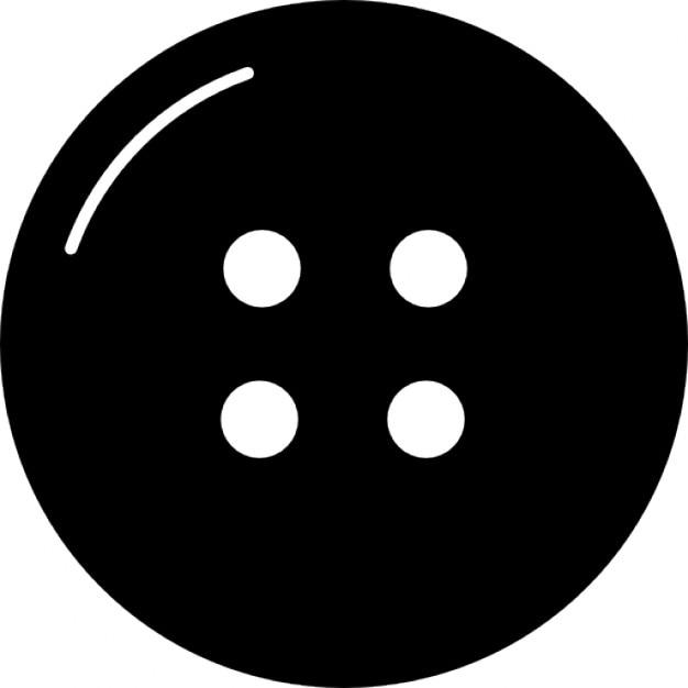 Bot n de la ropa con cuatro agujeros descargar iconos gratis for Icono boton