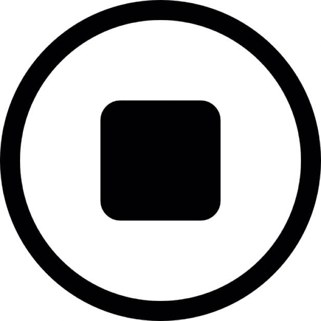 Bot n de paro descargar iconos gratis for Icono boton