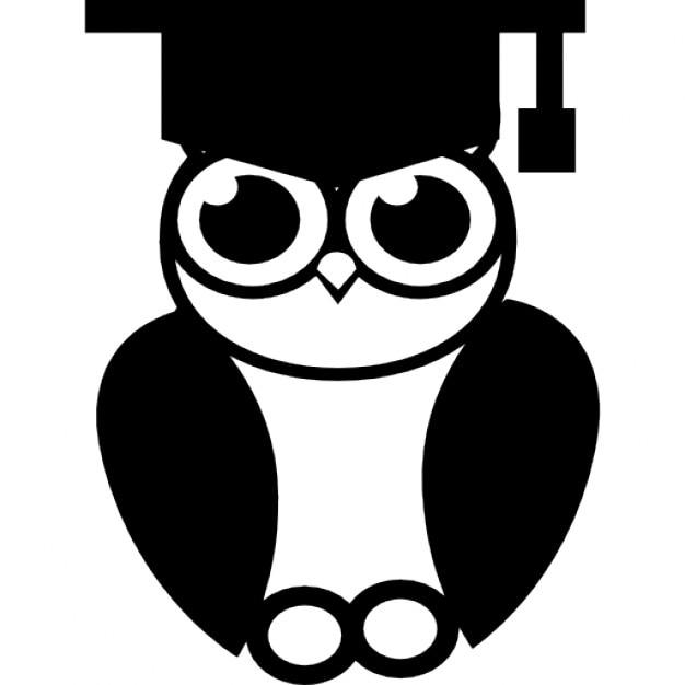 Graduation Owl Free Vector