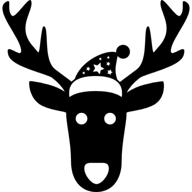 cabeza de navidad renos frontal descargar iconos gratis. Black Bedroom Furniture Sets. Home Design Ideas